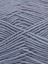 Machine washable. Lay flat to dry Fiber Content 60% Superwash Virgin Wool, 40% Acrylic, Light Indigo Blue, Brand Ice Yarns, fnt2-43806