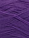Machine washable. Lay flat to dry Fiber Content 60% Superwash Virgin Wool, 40% Acrylic, Purple, Brand Ice Yarns, fnt2-43808