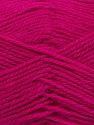 Machine washable. Lay flat to dry Fiber Content 60% Superwash Virgin Wool, 40% Acrylic, Brand Ice Yarns, Fuchsia, fnt2-43811