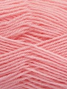 Machine washable. Lay flat to dry Fiber Content 60% Superwash Virgin Wool, 40% Acrylic, Brand Ice Yarns, Baby Pink, fnt2-43815