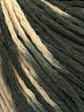 Fiber Content 50% Wool, 50% Acrylic, Brand Ice Yarns, Grey, Cream, Yarn Thickness 3 Light  DK, Light, Worsted, fnt2-43975