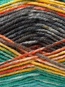 Fiber Content 45% Wool, 45% Bamboo, 10% Acrylic, Yellow, Orange, Brand Ice Yarns, Grey, Green, Yarn Thickness 3 Light  DK, Light, Worsted, fnt2-44529