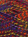 Fiber Content 100% Acrylic, Rainbow, Brand Ice Yarns, Dark Grey, Yarn Thickness 4 Medium  Worsted, Afghan, Aran, fnt2-44679