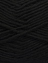 Fiber Content 100% Micro Acrylic, Brand Ice Yarns, Black, Yarn Thickness 2 Fine  Sport, Baby, fnt2-44750
