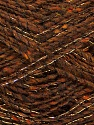 Fiber Content 7% Metallic Lurex, 53% Acrylic, 5% Viscose, 5% Polyamide, 30% Wool, Brand Ice Yarns, Brown, Yarn Thickness 2 Fine  Sport, Baby, fnt2-45069