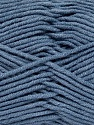 Fiber Content 55% Cotton, 45% Acrylic, Jeans Blue, Brand Ice Yarns, Yarn Thickness 4 Medium  Worsted, Afghan, Aran, fnt2-45151