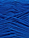 Fiber Content 55% Cotton, 45% Acrylic, Royal Blue, Brand Ice Yarns, Yarn Thickness 4 Medium  Worsted, Afghan, Aran, fnt2-45152