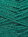 Fiber Content 70% Acrylic, 30% Alpaca, Brand Ice Yarns, Emerald Green, Yarn Thickness 5 Bulky  Chunky, Craft, Rug, fnt2-45236