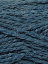 Fiber Content 70% Acrylic, 30% Alpaca, Jeans Blue, Brand Ice Yarns, Yarn Thickness 5 Bulky  Chunky, Craft, Rug, fnt2-45237
