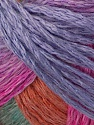 Please note that this is a self-striping yarn. See package photo for the color change. Fiber Content 62% Acrylic, 28% Wool, 10% Polyamide, Pink, Orange, Mint Green, Lilac, Brand Ice Yarns, fnt2-45259