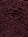 Fiber Content 100% Polyester, Brand Ice Yarns, Dark Maroon, Yarn Thickness 1 SuperFine  Sock, Fingering, Baby, fnt2-45300