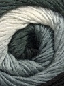 Fiber Content 50% Acrylic, 50% Wool, White, Brand Ice Yarns, Grey, Black, Yarn Thickness 2 Fine  Sport, Baby, fnt2-45312