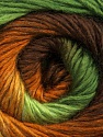 Fiber Content 50% Wool, 50% Acrylic, Brand Ice Yarns, Green Shades, Brown Shades, fnt2-45316
