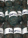 Brillo Mohair Please note that skein weight and length information given for this lot is average. Fiber Content 40% Polyamide, 32% Metallic Lurex, 16% Acrylic, 12% Mohair, Brand Ice Yarns, fnt2-45692
