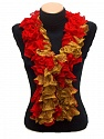 Please be advised that this is not a yarn, but a pre-made item. Fiber Content 100% Acrylic, Red, Mustard, Brand ICE, smp-473
