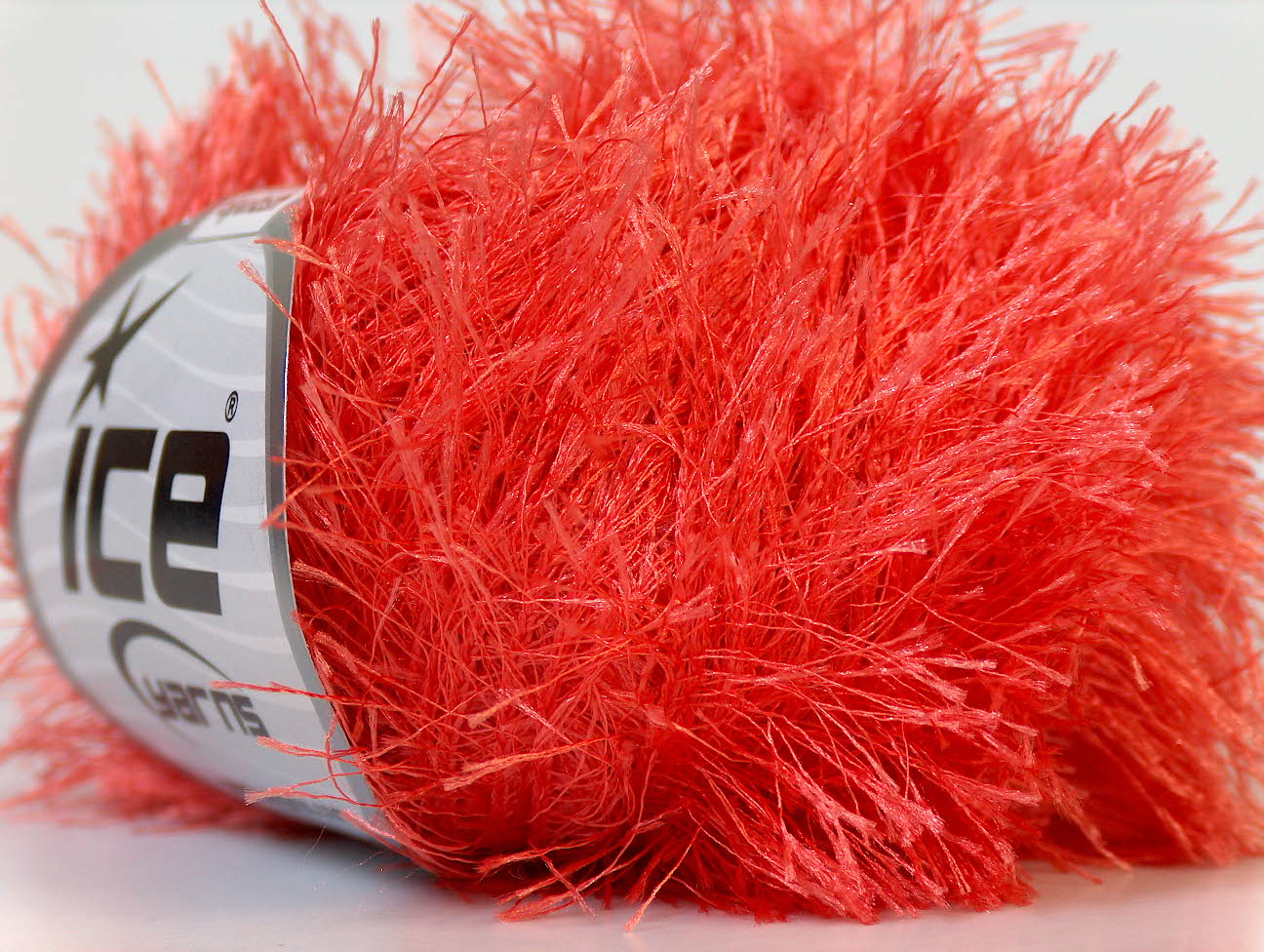 Eyelash Yarn : Eyelash Salmon, Eyelash Yarns Ice Yarns Online Yarn Store