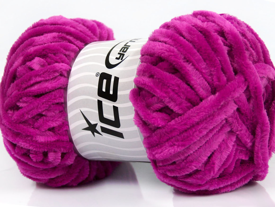 Chenille Yarn : Velvet Chenille Rose Pink at Ice Yarns Online Yarn Store