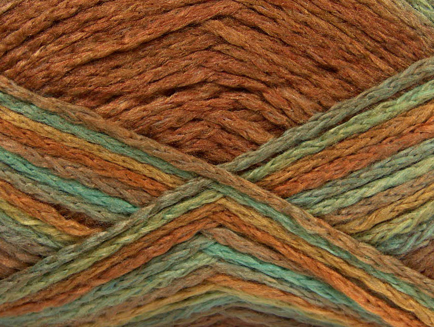 Alabama Yellow Mint Green Camel At Yarn Paradise