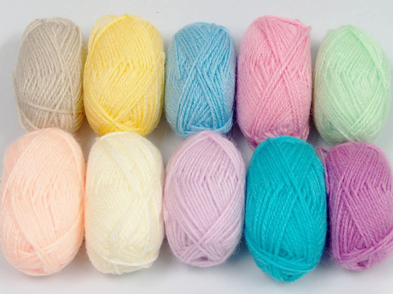 Amigurumi Change Yarn : Amigurumi Baby Colors, Basic - Plain Yarns Yarn Paradise
