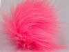 Pink 2 Faux Fur PomPoms