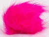 Neon Pink 2 Faux Fur PomPoms