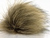Brun Beige 2 Faux Fur PomPoms