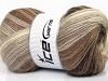 Mohair Magic Cream Brown Shades