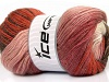 Mohair Magic Glitz White Salmon Orchid Copper Brown