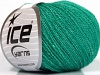 Silk Merino Emerald Green