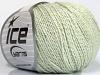 Silk Cotton Light Mint Green