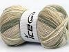 Wool Sport Print Khaki Beige Shades