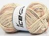 Soft Touch Bulky Print Lilac Light Salmon Grey Cream