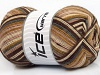 Design Sock Grey Cream Brown Shades
