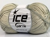 Cotton Fine Melange Light Grey
