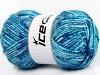 Wool Melange Turquoise Shades