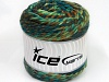 Cakes Wool Chunky Colors Turquoise Green Shades Brown Shades