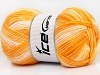 Baby Print Orange Shades Cream