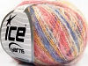 Kid Mohair Flamme Yellow White Pink Blue