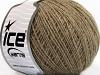 Wool Cord Sport Camel Melange