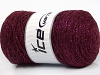 Macrame Cotton Glitz Burgundy
