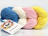 Art Color Cotton Yellow Light Pink Ecru Blue