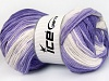 Baby Batik Lilac Shades Cream