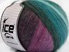 Angora Design Teal Purple Shades Anthracite
