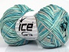 Fettuccia Fine Turquoise Shades Light Grey