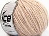 Wool Cord Aran Powder Pink