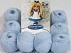 Amigurumi Cotton 25 Baby Blå