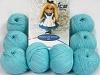 Amigurumi Cotton 25 Lys Turkis