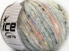 Mohair Shrimp Yellow White Orange Black