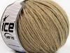 Wool Cord Aran Lys brun