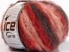 Kan Mohair rød Rosa Rødbrun